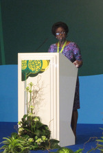 GWP Chair Dr Letitia A Obeng at Astana 2011