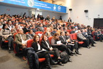 A near full auditorium at workshop in Lima